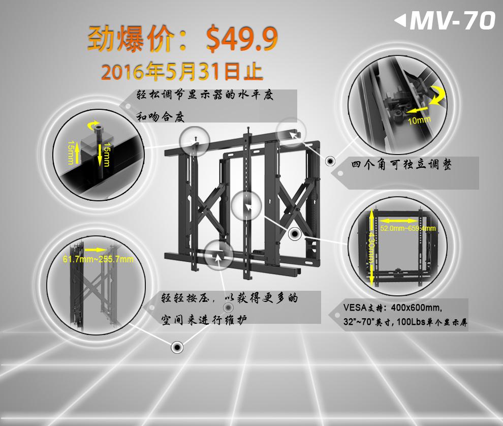 新品MV-70促销
